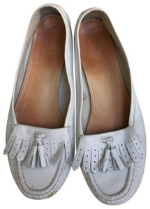 Candice Cooper Loafer White Flats
