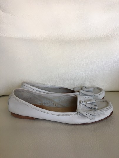 Candice Cooper Loafer White Flats Image 1