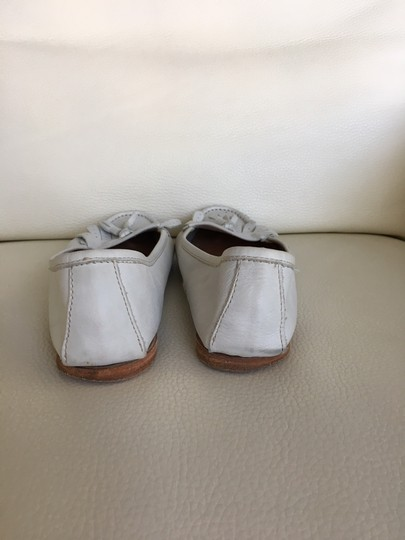 Candice Cooper Loafer White Flats Image 2