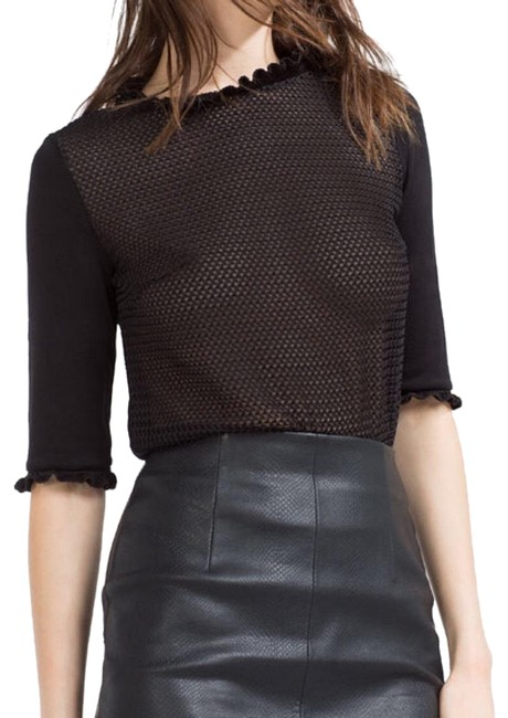 Preload https://img-static.tradesy.com/item/24142743/zara-fishnet-top-0-1-650-650.jpg