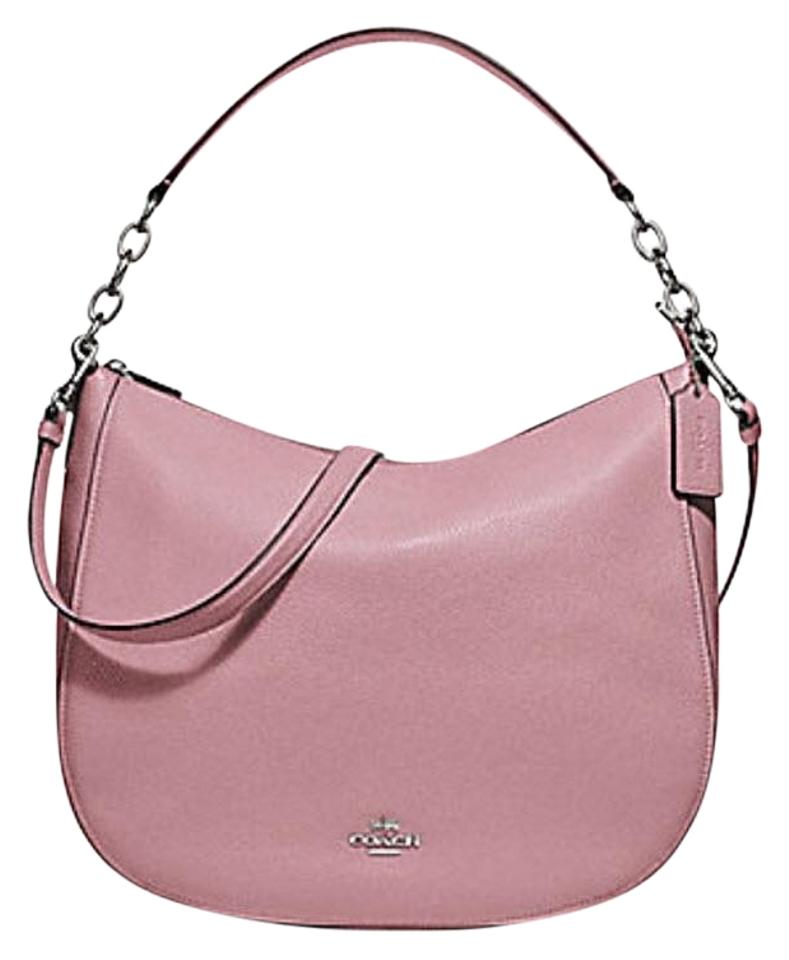 114297cef7ea Coach Chelsea Elle 32 Hobo F31399 58036 Pink Leather Shoulder Bag ...