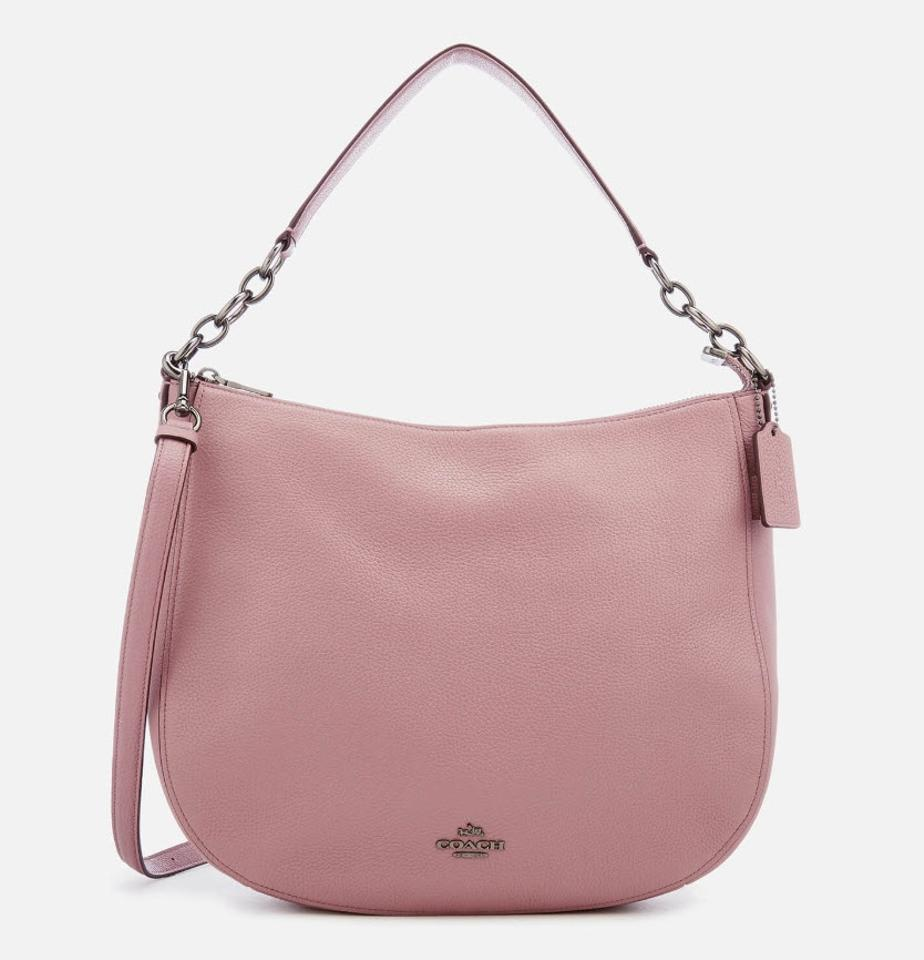 f314aba86e5c Coach Chelsea Elle 32 Hobo F31399 58036 Pink Leather Shoulder Bag - Tradesy