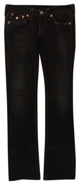 Item - Blue Very Light Distressing Medium Wash Billy Boot Cut Jeans Size 6 (S, 28)