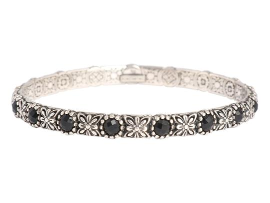 Preload https://img-static.tradesy.com/item/24142822/konstantino-black-onyx-and-sterling-silver-nykta-bangle-bracelet-0-0-540-540.jpg