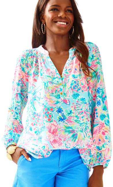 Lilly Pulitzer Top Multi Image 1
