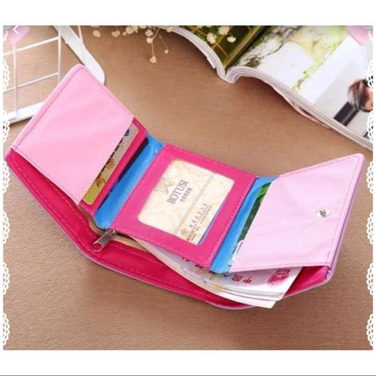 Fashion Cute Lite Pink Cat Wallet Image 1