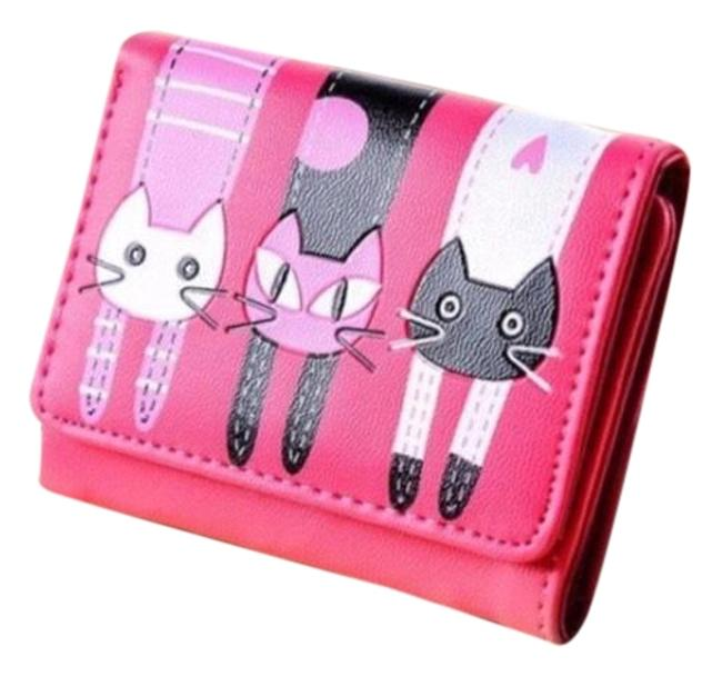 Item - Hot Pink Cute Cat Wallet