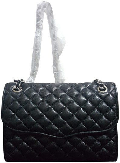 Preload https://img-static.tradesy.com/item/24143051/rebecca-minkoff-quilted-affair-black-silver-leather-cross-body-bag-0-1-540-540.jpg