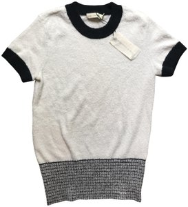 Rag & Bone Ragandbone Fashion T Shirt White/Navy