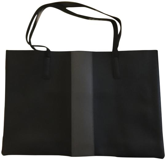 Vince Camuto Leather Casual Tote in Black Image 0