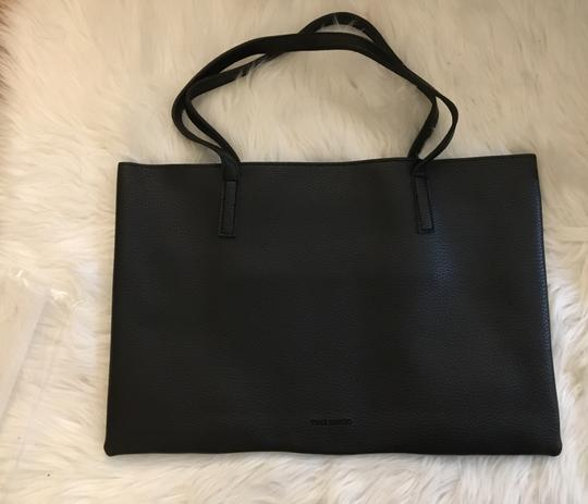 Vince Camuto Leather Casual Tote in Black Image 2