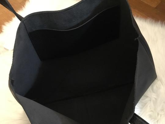 Vince Camuto Leather Casual Tote in Black Image 4