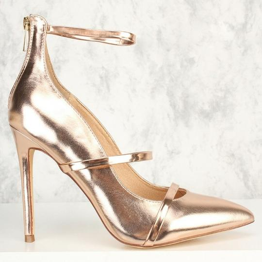 Liliana Rose gold Pumps Image 1