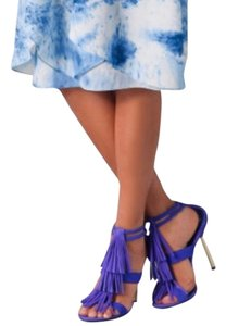 Brian Atwood purple electric blue Pumps