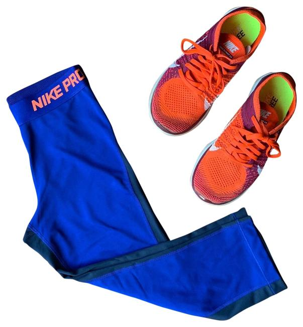 Item - Blue Orange Pro Dry Fit Capri Leggings Size 4 (S, 27)