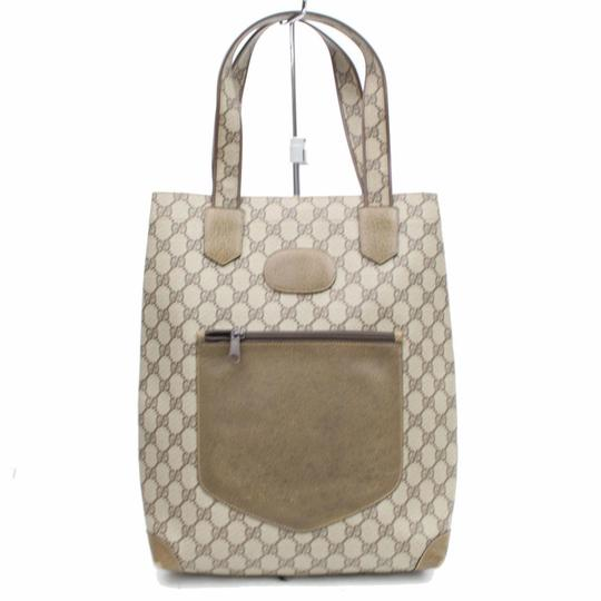 Preload https://img-static.tradesy.com/item/24143495/gucci-monogram-gg-supreme-shopper-868155-brown-coated-canvas-tote-0-0-540-540.jpg