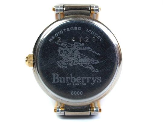 Burberry 8000 Two-Tone Gold Stainless Steel Vintage Ladies Watch Image 11