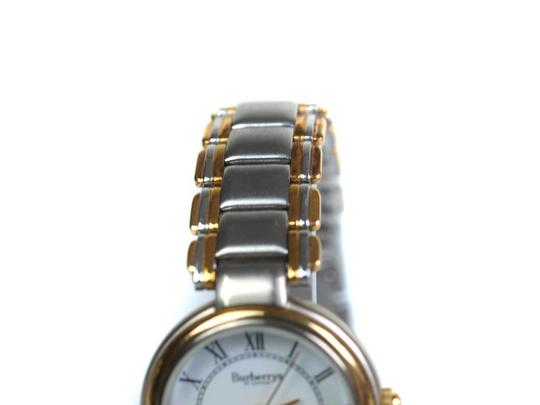 Burberry 8000 Two-Tone Gold Stainless Steel Vintage Ladies Watch Image 9