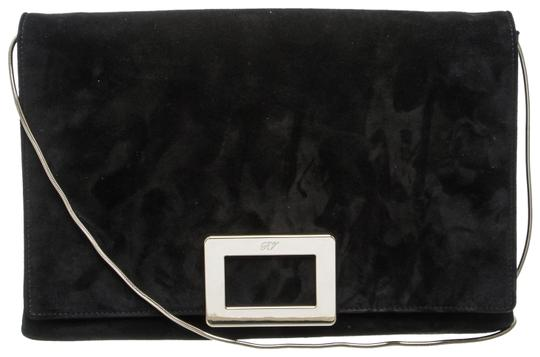 Preload https://img-static.tradesy.com/item/24143519/roger-vivier-envelope-485970-black-suede-leather-clutch-0-1-540-540.jpg