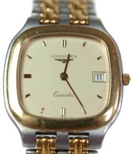 Longines Two-Tone Gold Stainless Steel Vintage Ladies Watch