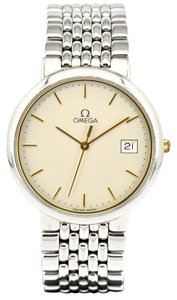 Omega Omega Deville Stainless Steel Gold Vintage Men's Watch