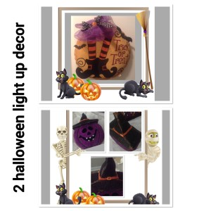 Pier 1 Imports Halloween led and battery light up decor