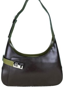 Green Salvatore Ferragamo Shoulder Bags - Up to 90% off at Tradesy 008fd2a4198c9
