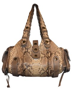 Chloé #pythonleather #designerdeal Tote in Taupe