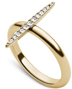 Michael Kors Michael Kors Brilliance Pave Baguette Barrel Ring