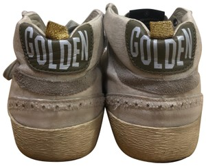 Golden Goose Deluxe Brand White, gold Athletic