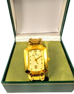 Lucien Piccard Lucien Piccard Swiss made 18k gold plated watch