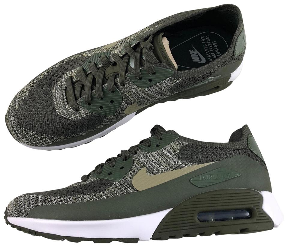 best sneakers 7090e 70c27 Nike Green Women's Air Max 90 Ultra 2.0 Flyknit Features An Injected Foam  Midsole That Doubles As An Outdoor A Sneakers Size US 9 Narrow (Aa, N) 30%  ...