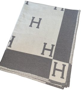 Hermès Hermes Avalon Gray Blanket