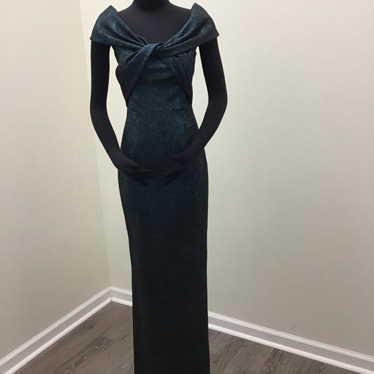 Preload https://img-static.tradesy.com/item/24145362/teri-jon-metallic-teal-polyester-polyamide-77081-formal-bridesmaidmob-dress-size-2-xs-0-0-540-540.jpg