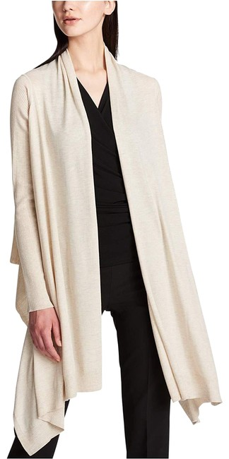Preload https://img-static.tradesy.com/item/24145386/dkny-cream-women-s-ribbed-sleeve-open-front-high-low-oatmeal-cardigan-size-2-xs-0-1-650-650.jpg