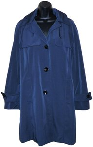 Calvin Klein Lined Polyester Machine Washable Trench Coat