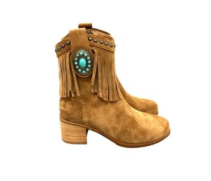 Montana West The Treasured Hippie Cowgirl Affordable Designer Western Brown Boots