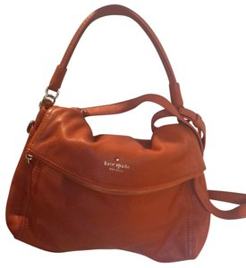 f243ccd7c3 Orange Kate Spade Hobo Bags - Up to 90% off at Tradesy