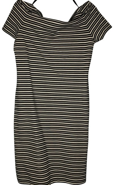 Preload https://img-static.tradesy.com/item/24145531/ann-taylor-black-and-white-stripe-mid-length-workoffice-dress-size-12-l-0-1-650-650.jpg