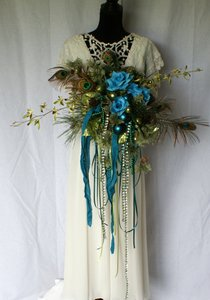 Mardi Gras Silk Bouquet Ceremony Decoration