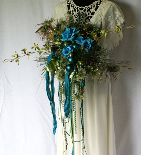 Mardi Gras Silk Bouquet Ceremony Decoration Image 1