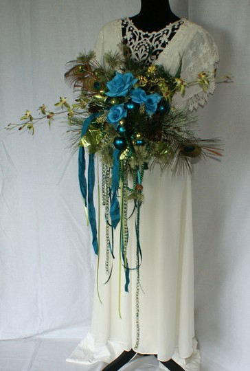 Mardi Gras Silk Bouquet Ceremony Decoration Image 6