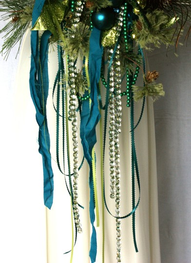 Mardi Gras Silk Bouquet Ceremony Decoration Image 7
