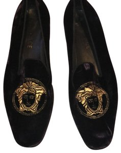 Versace purple gold Flats