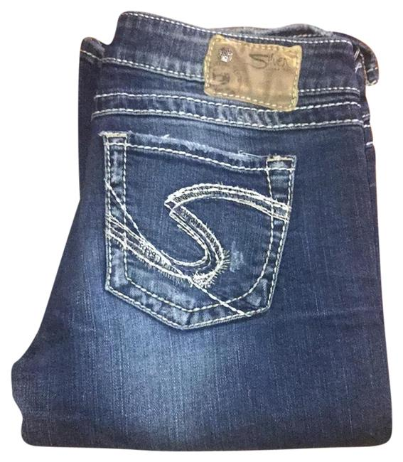 Item - Distressed Twisted Relaxed Fit Jeans Size 8 (M, 29, 30)