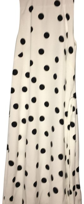 Preload https://img-static.tradesy.com/item/24145644/ann-taylor-black-and-white-polka-dot-mediumtall-fits-like-a-mid-length-formal-dress-size-12-l-0-1-650-650.jpg