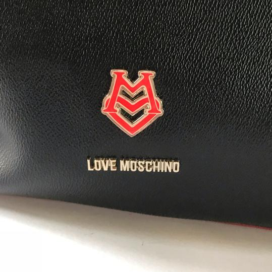 Love Moschino Tote in black/red Image 5