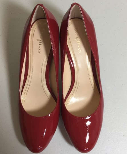Cole Haan Patent New Red Pumps Image 2