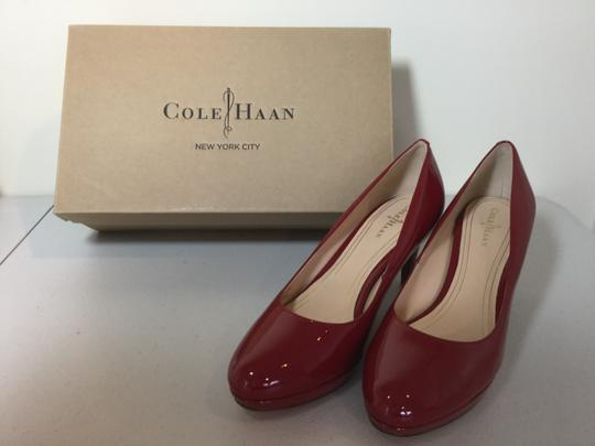Cole Haan Patent New Red Pumps Image 4