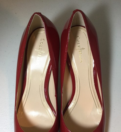 Cole Haan Patent New Red Pumps Image 5
